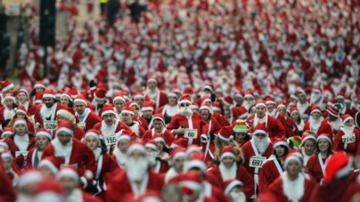 Sponsors needed as thousands of Santas take to the streets to support the Glendale Fire Charities