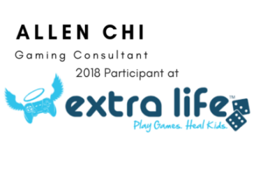 Allen Chi to Participate in Extra Life 24 Hour Charity Gaming Marathon