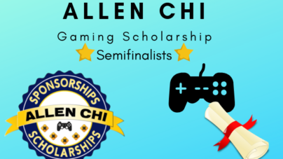 Allen Chi Announces Semifinalists for Gaming Scholarship